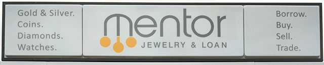 Mentor Jewelry & Loan Sign